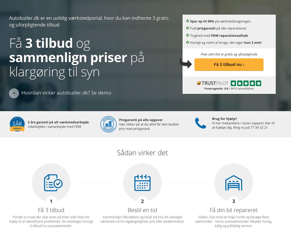 e0aa83b553d Du kan med fordel bruge en sammenligningstjeneste som Autobutler.dk til at  få tilbud på bilreparationen. Det er helt gratis! Her er det let at vælge  hvilken ...