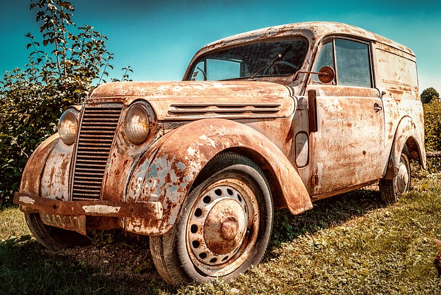 rustbehandling af bil